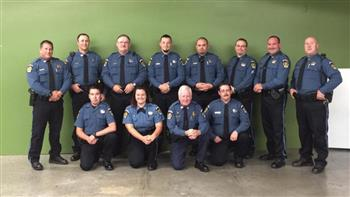 police department group picture